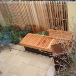 fence-vertical-slats-redwood-and-bench