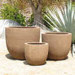 Pot Light Brown Clay 3-055-LC-tn